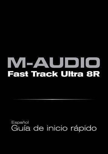 Guía de inicio rápido - M-Audio