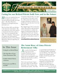 Heritage Newsletter - Fall 2011 - Planned Giving Websites