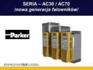 falowniki serii ac30/ac70 - Elektro-Trading