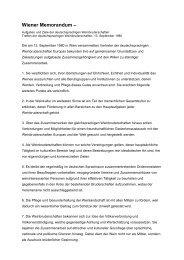 Wiener Memorandum – - Weinbruderschaft Rheinhessen
