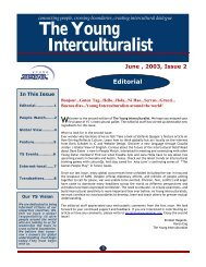 The Young Interculturalist