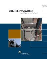 MINIELEVATORER - Grundejernes Investeringsfond