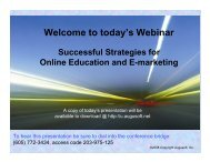 Today's Webinar - Augusoft