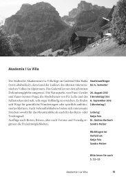 Programm 2012 - Schweizerische Studienstiftung