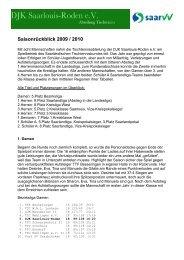 Abschlussbericht 2009 2010 als pdf-Datei - DJK Saarlouis-Roden
