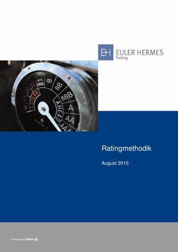 Ratingmethodik - Euler Hermes Rating Deutschland GmbH