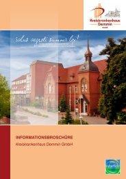 Imagebroschüre Kreiskrankenhaus Demmin