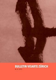 Bulletin 2013/04 - visarte zürich