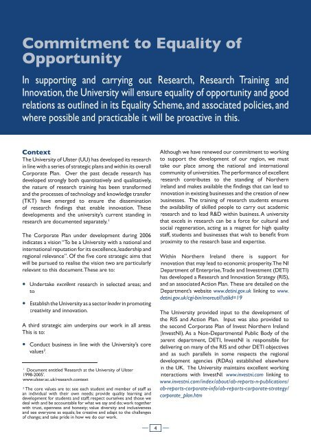 SUPPORTIVe - Research - University of Ulster