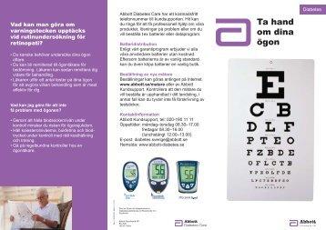 Ta hand om dina ögon - Abbott Diabetes Care