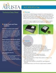 Download Tag Details and Specs (PDF) - AiRISTA