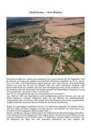 Oberfröschau – Horní Břečkov - Europas-mitte.de