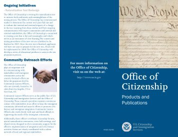 Office of Citizenship
