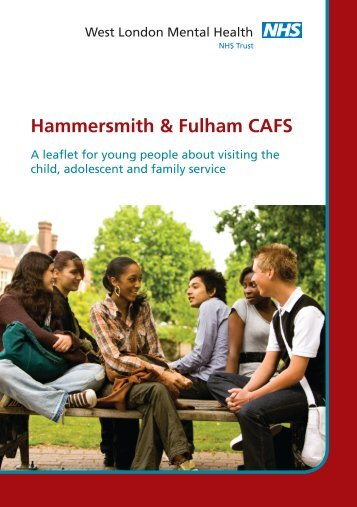 Download CAFS leaflet for young people