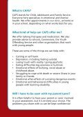 Download CAFS leaflet for young people - Page 2