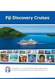 Fiji Discovery Cruises - Island Escapes