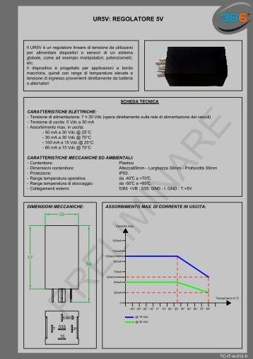 UR5V: REGOLATORE 5V - 3b6.it