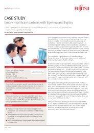 Emory Healthcare Case Study - Fujitsu
