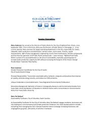 Download Speaker Biographies - ICLEI Local Governments for ...