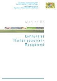 Kommunales - Bayerisches Staatsministerium für Umwelt und ...