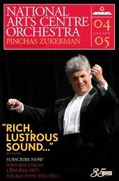 2004-2005 NAC Orchestra - National Arts Centre