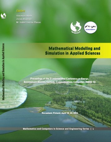 mathematical modelling - Wseas.us