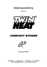Betjening Cpi12 - 3.0 - TwinHeat