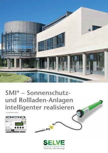 SMI* – Sonnenschutz- und Rollladen-Anlagen intelligenter ... - Selve