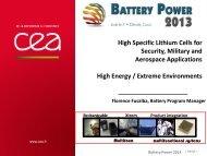 High energy density - Battery Power Magazine