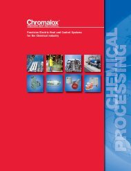 View our Chemical Processing Industry Brochure - Chromalox ...