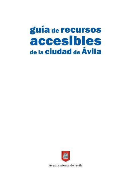 Ávila Recursos accesibles. | PDF - Spain