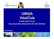 UNIQA VitalClub - WMD Brokerchannel