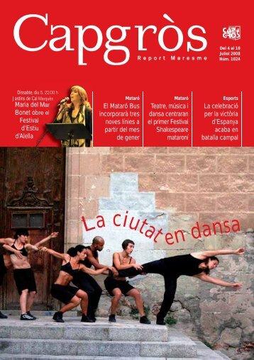 La ciutat en dansa - CapGros.com