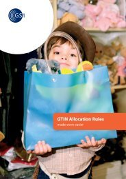 GTIN Allocation Rules