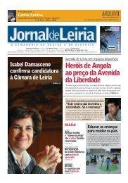 Heróis de Angola ao preço da Avenida da Liberdade - Jornal de Leiria