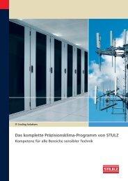 Das komplette Präzisionsklima-Programm von STULZ - Stulz GmbH