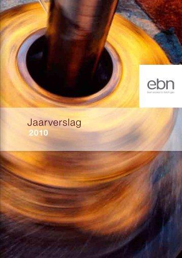 Jaarverslag 2010 - EBN