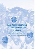 Eau, assainissement et développement durable – Les ... - pseau - Page 3