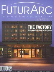 Futur Arc, August - HCP Design and Project Management Pvt. Ltd.
