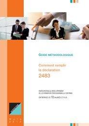 Guide méthodologique 2483 - Agefos PME