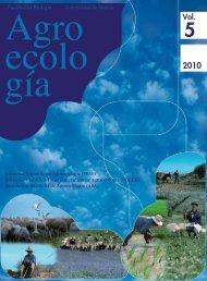 Volúmen nº 5 - Sociedad Española de Agricultura Ecológica