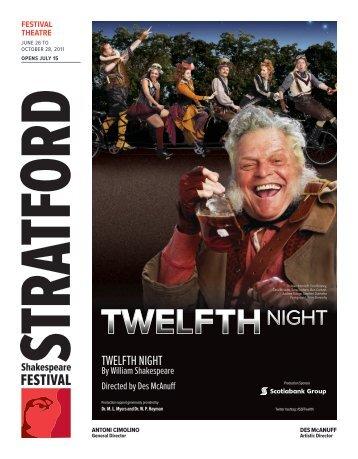 TWelfTh nighT - Stratford Festival