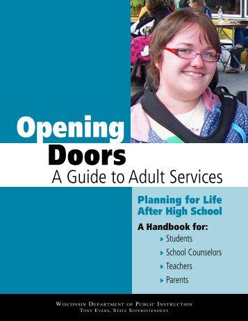 Opening Doors: A Guide to Adult Services - Autism Society of ...