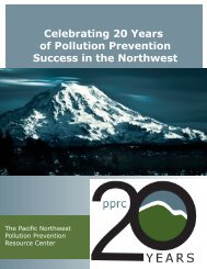 Celebrating 20 Years of Pollution Prevention Success in the Northwest
