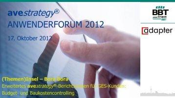 Den Vortrag als pdf herunterladen - BBT GmbH