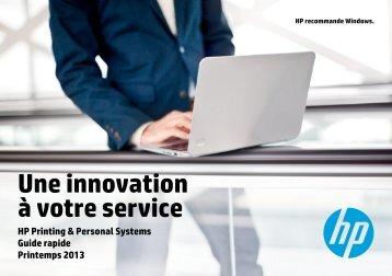 Une innovation à votre service