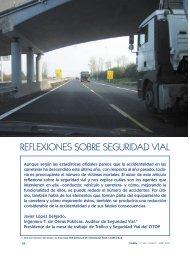 reflexiones sobre seguridad vial - Colegio de Ingenieros Técnicos ...