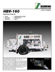 HBV-160 - Concrete Equipment Inc