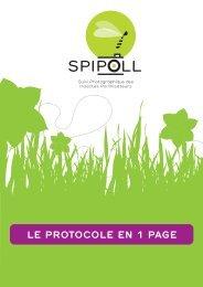 Protocole simplifié - Spipoll