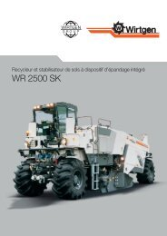 WR 2500 SK - Wirtgen GmbH